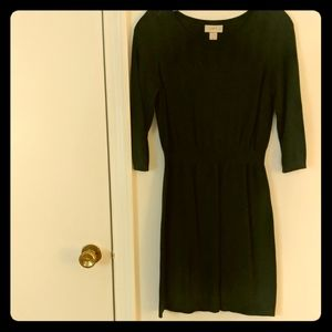 Petite Forest green sweater dress